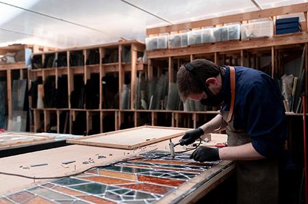 Restauration de vitraux Lille